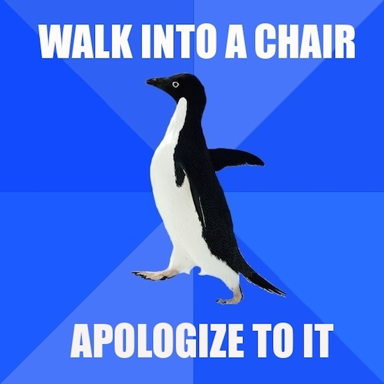 Sorry Chair