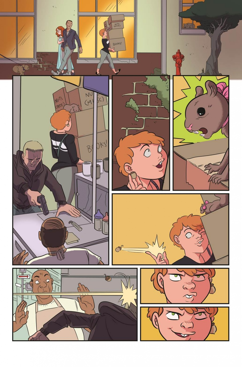 Interior Page (Unlettered)